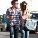Kate Beckinsale And Family Out In Santa Monica