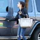 'Reunion' actress Cara Santana is spotted running some errands in West Hollywood, California on November 3, 2014