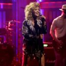 Rita Ora on 'The Tonight Show Starring Jimmy Fallon' in New York