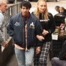 Sophie Turner and Joe Jonas – Leaves a Bondi cafe in Sydney