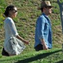 Michael Fassbender and Alicia Vikander are spotted on a rare outing together on May 2, 2017 - 454 x 344
