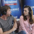 Actress Hayley Atwell attends SiriusXM's Entertainment Weekly Radio Channel Broadcasts From Comic-Con 2015 at Hard Rock Hotel San Diego on July 11, 2015 in San Diego, California