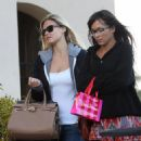 Bar Refaeli Shopping - Nordstrom in LA Feb-16-2011