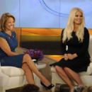 Katie Couric With Jessica Simpson