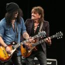 Slash and Richie Sambora attend the NAMM Tec Awards at the Anaheim Hilton on on January 24, 2015 in Anaheim, California