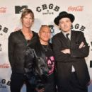 Duff McKagan, Michael Alago and director Drew Stone attend CBGB Music & Film Festival 2014 - Michael Alago & Duff McKagan Film Talks on October 10, 2014 in New York City.