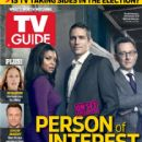Michael Emerson, Jim Caviezel, Taraji P. Henson, Person of Interest - TV Guide Magazine Cover [United States] (15 October 2013)