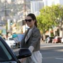 Jessica Biel Out And About In West Hollywood, June 22, 2010