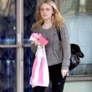 Dakota Fanning leaving a yoga class in Studio City March 14, 2011