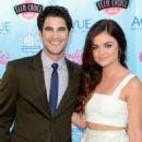 Lucy Hale and Darren Criss at the 2013 Teen Choice Awards (August 11) - 454 x 667