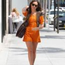 Louise Roe in Beverly Hills