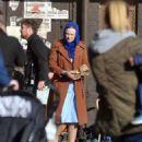 Dakota Fanning – Filming 'Sweetness in the Belly' in Dublin - 454 x 571