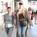 Khloe and Kourtney Kardashian – Filming KUWTK in Canoga Park