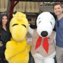 Roselyn Sanchez and Eric Winter– Visits Camp Snoopy At Knott's Berry Farm in Buena Park, CA 8/27/2016