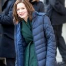 Holliday Grainger on the Set of 'The Capture' in London 01/20/2019 - 454 x 681