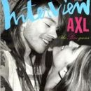 Axl Rose - Interview Magazine [United States] (May 1992)