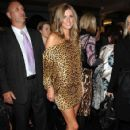 Nicky Hilton struts her stuff on the catwalk for the Charlie Brown fashion show in Sydney, Australia