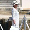Catherine Zeta Jones on holiday in France - 454 x 737