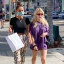 Lottie Moss – Shopping with a friend on Rodeo Drive in Beverly Hills