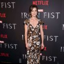 Jessica Stroup – 'Iron Fist' TV Series Premiere in New York - 454 x 629