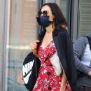 Famke Janssen – Is walking in The West Village – New York