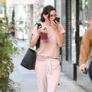 Courteney Cox – Heads to a nail salon in Beverly Hills
