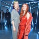 Bella Thorne attends the Sally LaPointe front row during New York Fashion Week: The Shows at Gallery I at Spring Studios on February 12, 2019 in New York City