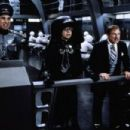 Rick Moranis, George Wyner and Mel Brooks in Spaceballs (1987)