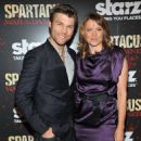 "Lucy Lawless attends ""Spartacus: War Of The Damned"" Series Finale Premiere at MOMA on January 24, 2013 in New York City"