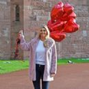 Christine McGuinness – Valentines Day Photoshoot at Peckforton Castle in Cheshire - 454 x 633