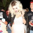 Bella Thorne – Arrives to Halloween party in Los Angeles - 454 x 545