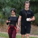 Camila Cabello and Shawn Mendes – On a morning walk in Miami