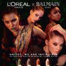 L'Oréal x Balmain Fall 2017 - 454 x 567
