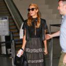 Paris Hilton is seen at LAX - 400 x 600
