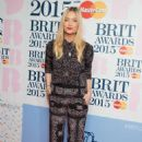 Laura Whitmore Brit Awards 2015 Nominations In London
