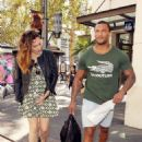 Kelly Brook At The Grove In La