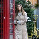 Myleene Klass – Out in North London - 454 x 681