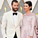Jamie Dornan and Amelia Warner At The 89th Annual Academy Awards  - Arrivals (2017) - 438 x 600