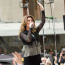 Shania Twain – Performs on NBC Today Show Summer Concert Series in NY - 454 x 609