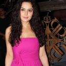 Preity Zinta At Suzanne Roshan's 'The Charcoal Project' Launch