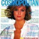Vanessa Angel - Cosmopolitan Magazine Cover [Netherlands] (August 1985)