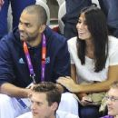 Axelle Francine and Tony Parker and Axelle Francine - 454 x 344