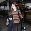 Evan Rachel Wood – Arrives at LAX Airport in LA