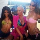 Amber Rose on the Set of 'School Dance' in Norwalk, California -  June 18, 2012 - 454 x 451