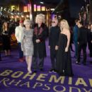 Genevieve Potgieter and other celebrities attend the World Premiere of 'Bohemian Rhapsody' at The SSE Arena, Wembley, on October 23, 2018 in London, England - 454 x 305