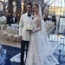 Ana Beatriz Barros and Karim El Chiaty- wedding ceremony in Mykonos, Greece - 370 x 448