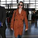 Alison Brie – Arrives at LAX Airport in LA