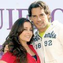 Cristian De La Fuente and Karyme Lozano