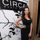 Odette Yustman - Hollywood Domino Gala presented by Circa and Bing in support of Seven Bar Foundation held at Sunset Tower on February 24, 2011 in West Hollywood, California