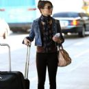 Miranda Cosgrove Flying To The Bahamas